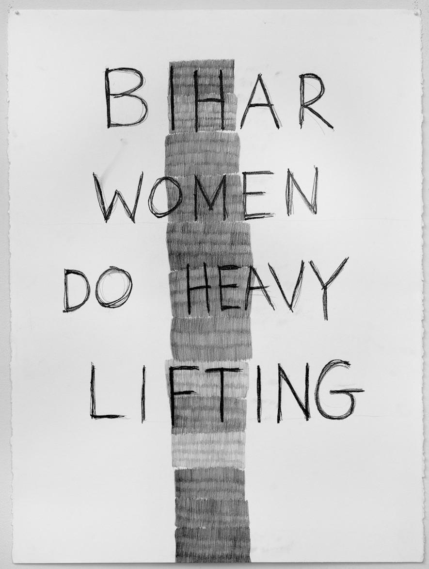 Bihar Women Do Heavy Lifting