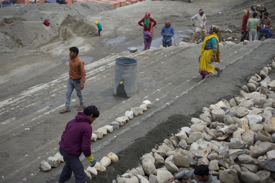 Ram Jhula Workers