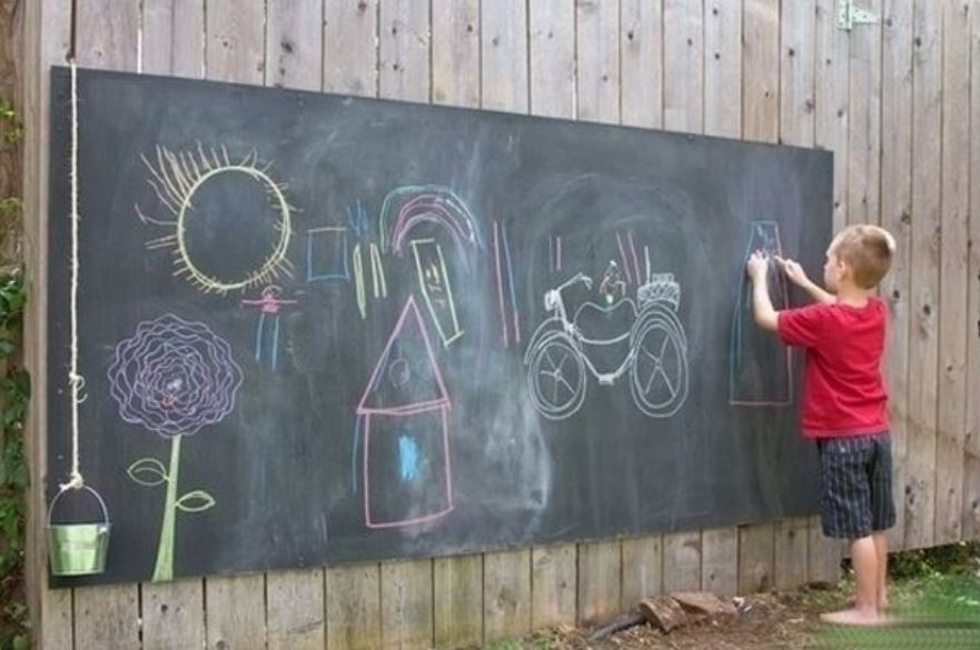 Removable Vinyl chalk board1