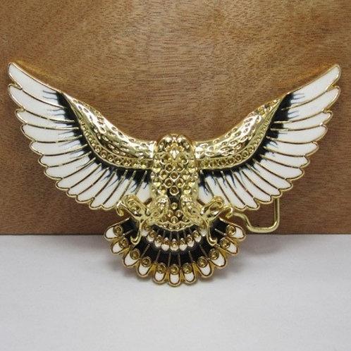 Golden Eagle Metal Belt Buckle