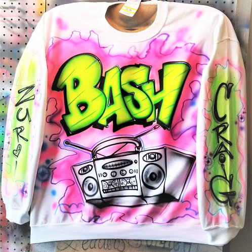 80's and 90's throw back party Hoody