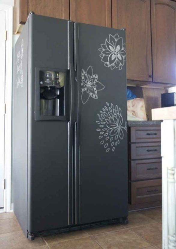 Removable Vinyl chalk board2