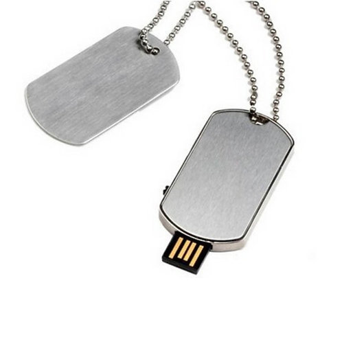 USB Memory Dog Tag