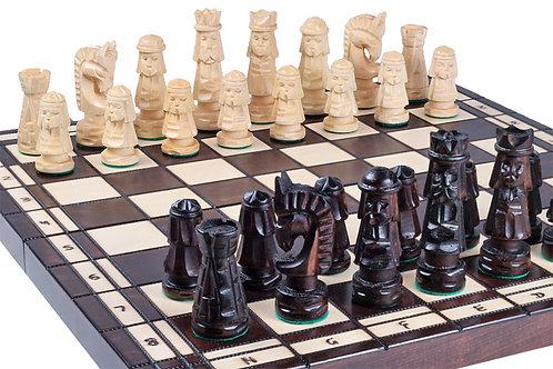 Citrinmedžio šachmatų rinkinys