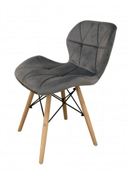 Kėdė Malta Dark Grey