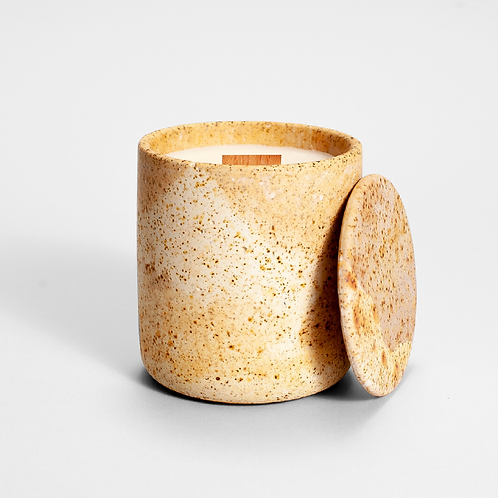CANDELA smėlinio betono kvapioji žvakė