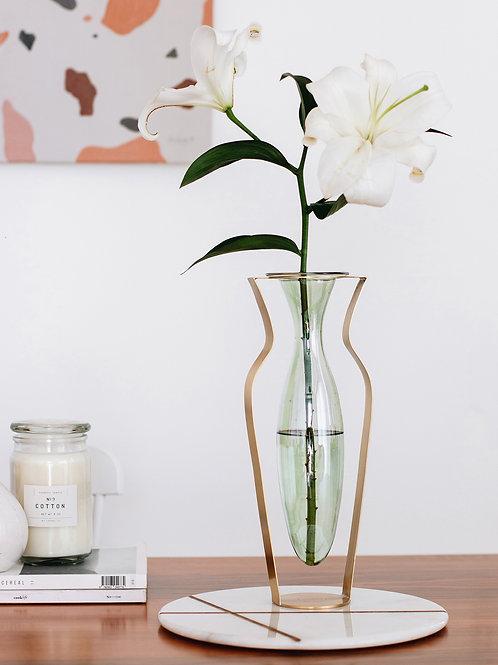KITBOX Droplet Menta aukšta vaza