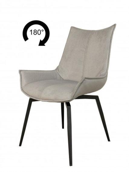 Elegantiško stiliaus pasukama kėdė su porankiais Bilbao