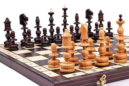 Senovinio dizaino šachmatų rinkinys