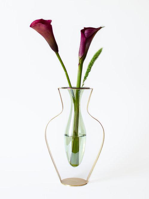 KITBOX Droplet wide vase Menta