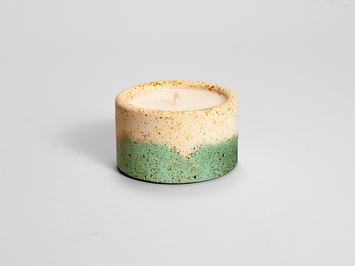 CANDELA Turquoise Concrete Scent Candle