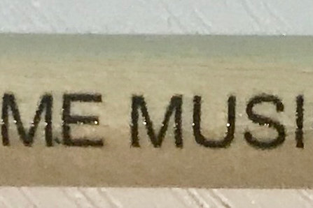 Learn@home Music Studio pencil with rubber tip