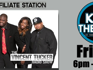 "K.95 The Jam (Dayton, Ohio) Announces Debut of ""The Vincent Tucker Radio Show"""