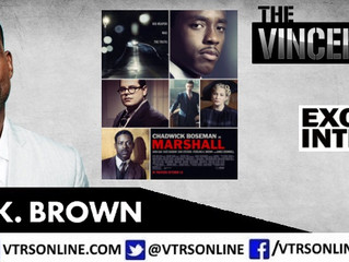 'This Is Us' Star Sterling K. Brown Talks New Film 'Marshall' On The VTRS!