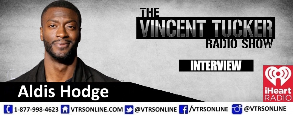Aldis Hodge on the VTRS