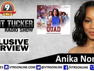 Anika Noni Rose of BET's The Quad on VTRS!