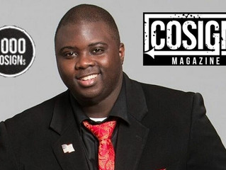 "Vincent ""Heartbreak"" Tucker featured in COSIGN Magazine's ""1000 COSIGN's"" series!"