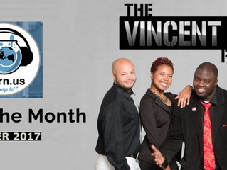 "The Vincent Tucker Radio Show Named ""Show of the Month"""