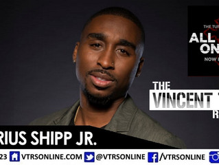 "Demetrius Shipp Jr on Playing Tupac in Movie ""All Eyez On Me"" And More!"