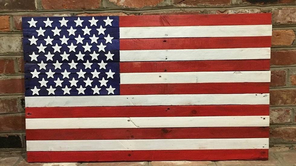 Small Bright American Flag