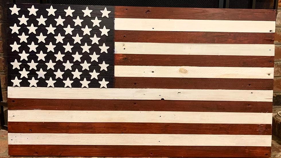 Big Medium Shade American Flag