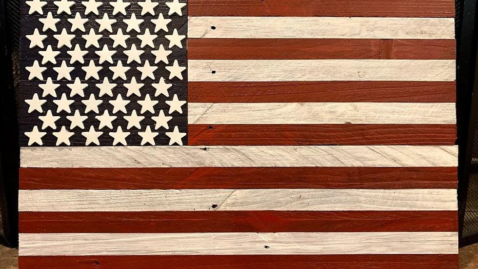 Small Medium Shade American Flag