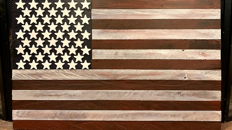 Small Dark Shade American Flag