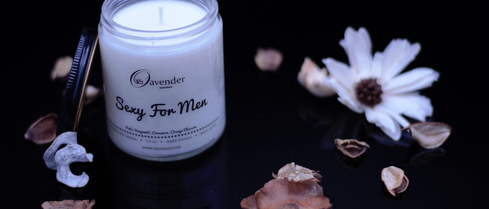Sexy For Men Soy Candle