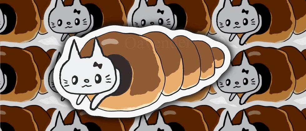Croissant Vinyl Sticker