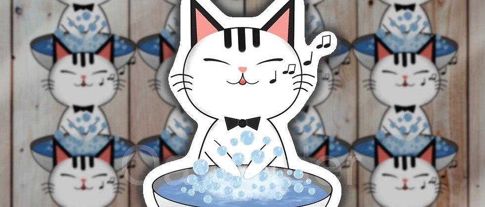 Wash Your Hand Vinyl Sticker