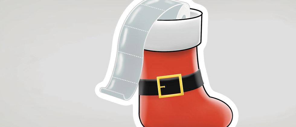 Christmas Stocking Sticker