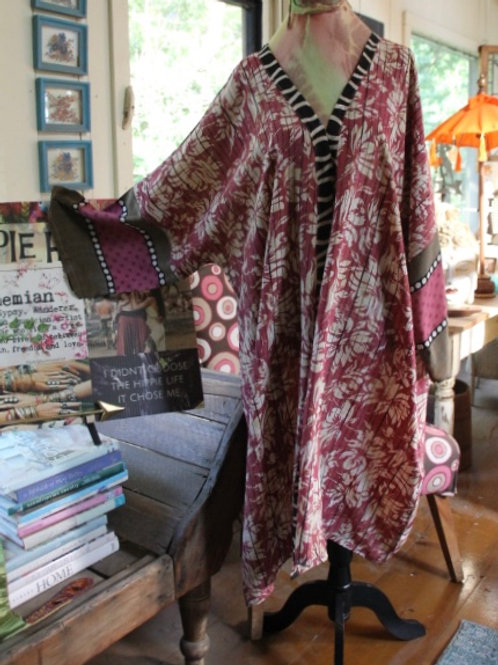 PASSION FLOWER KIMONO/MOROCCAN BAZAAR COLLECTION