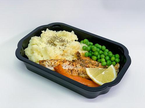 Box 5: Vitfisk med potatismos