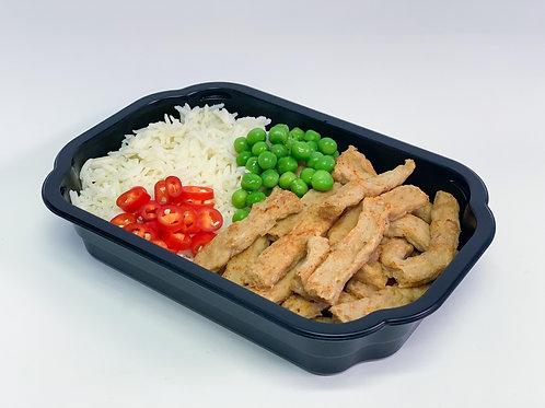 """Box 10: Chicken style strips """"Vego"""""""