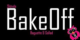 Bakeoff logotyp. Restaurang i Skövde. Snabb lunch.
