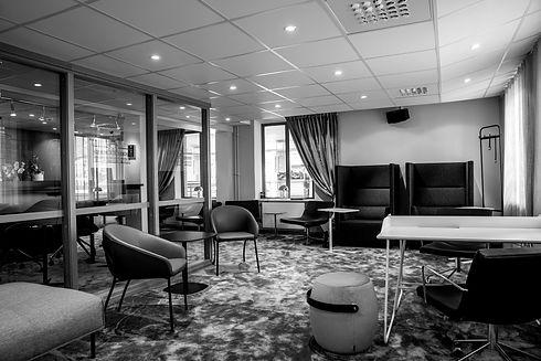 Bahnhof Coworking & kontorshotell lounge