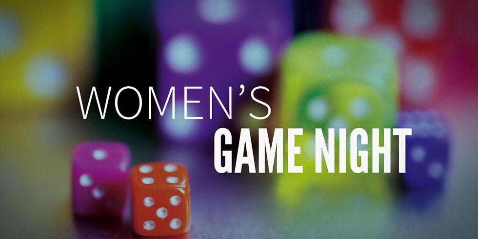 Women's Group Game Night!