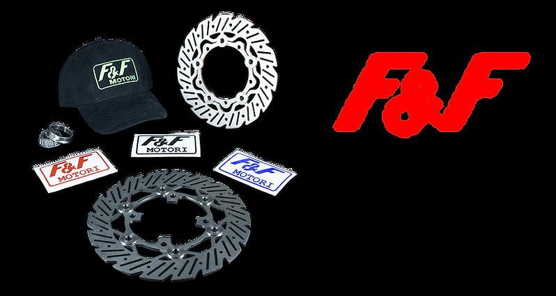 F&F scooter dischi freno