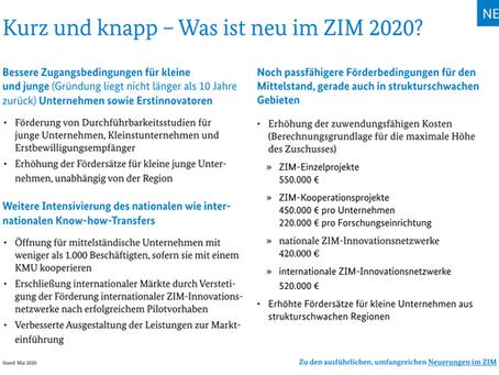 Was ist neu im ZIM 2020?