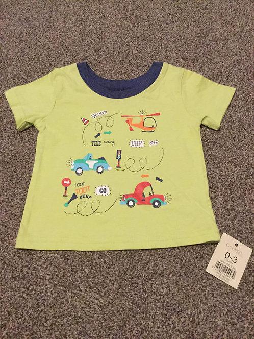 BRAND NEW 0 - 3 months Transport T - Shirt