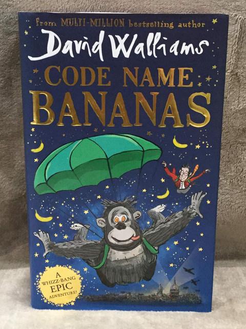 DAVID WALLIAMS CODE NAME BANANA ( HARDBACK  )