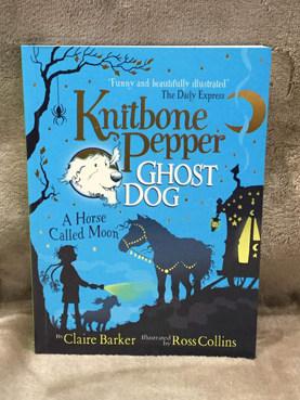 "KNITBONE PEPPER GHOST DOG ""A HORSE CALLED MOON """