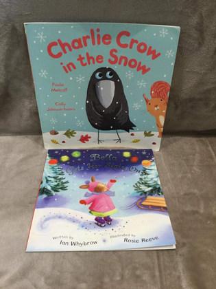 CHARLIE CROW / BELLA GETS HER SKATES ON