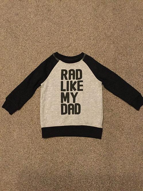 1 1/2 - 2 years Black & Grey Sweater