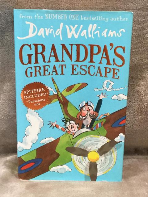 DAVID WALLIAMS GRANDPA'S GREAT ESCAPE ( HARDBACK  )