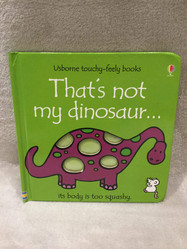 USBORNE THAT'S NOT MY....DINOSAURS Book