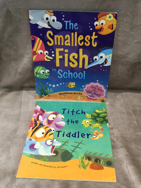 TITCH THE TIDDLER & FISH IN SCHOOL