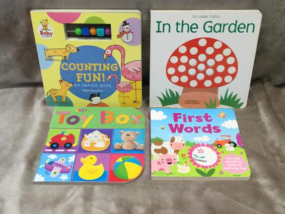 BABY LEARNING BUNDLE x 4