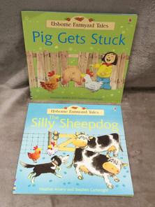 USBORNE SILLY SHEEPDOG & PIG GETS STUCK