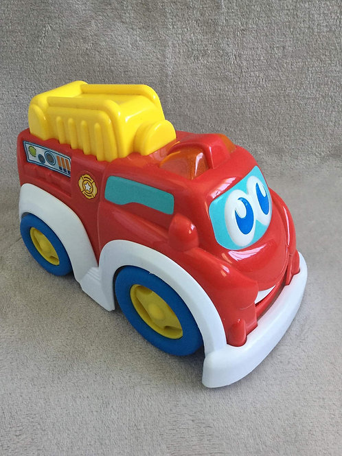 Red Musical Fire Engine